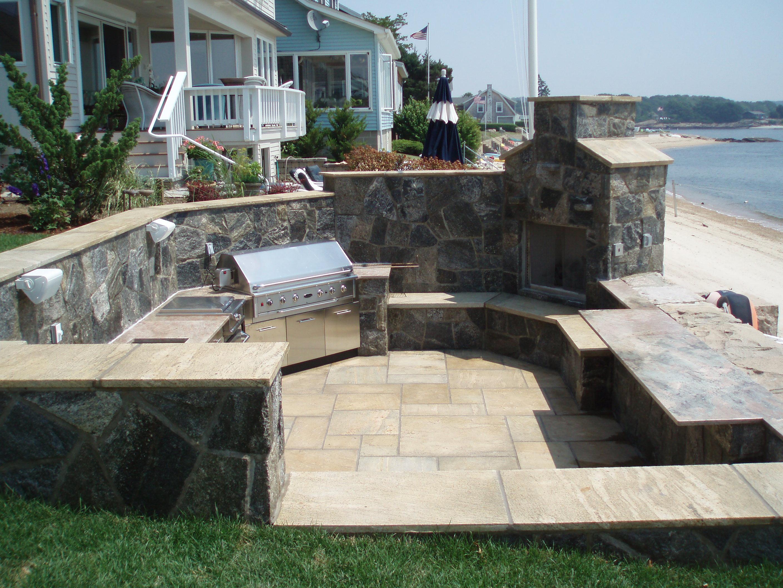 Outdoor Kitchen Designs By Preferred Properties Landscaping The Outdoor Kitchen Design Store