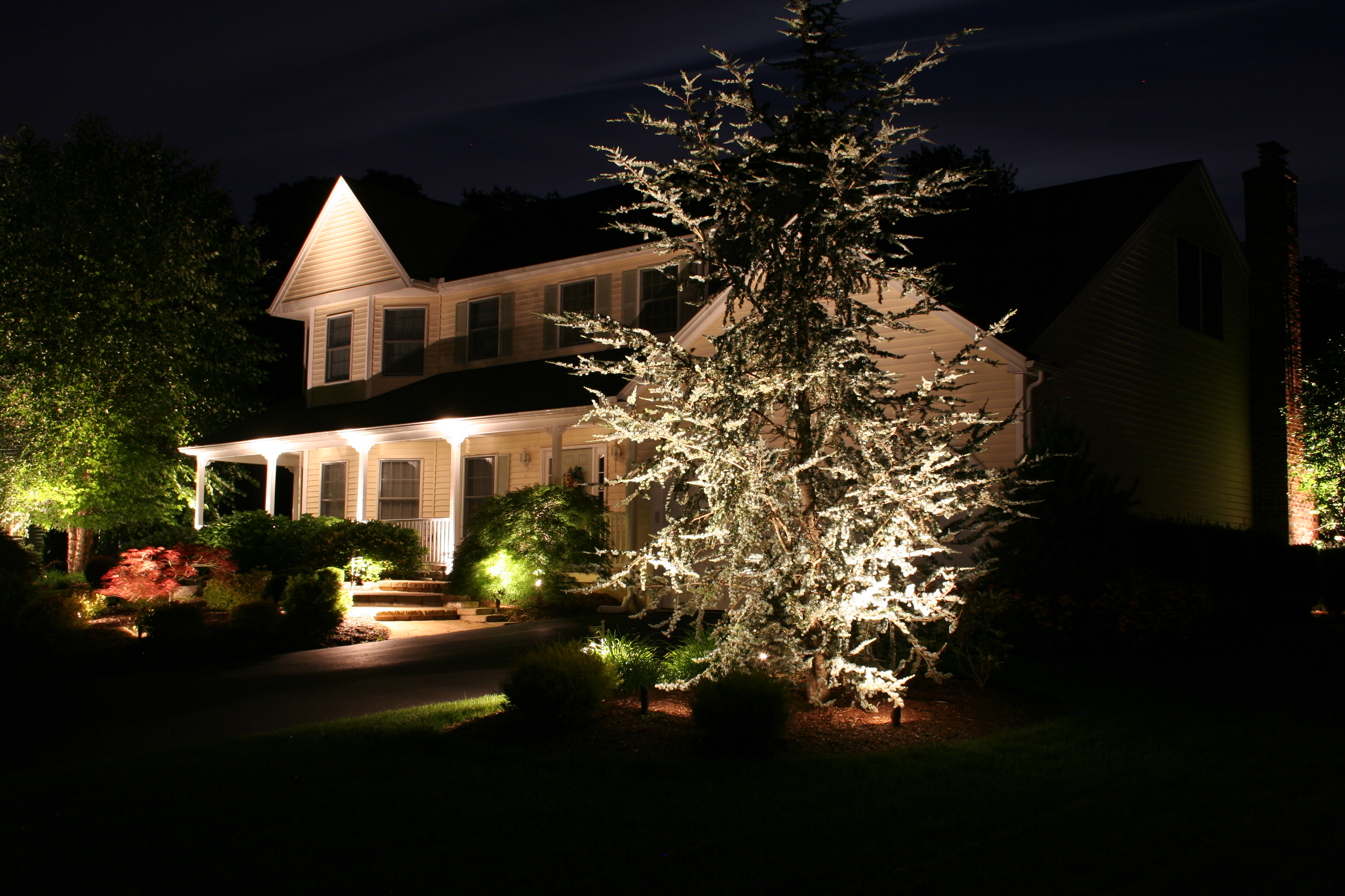Landscaping Lighting Ideas Interior Home Design Home Decorating