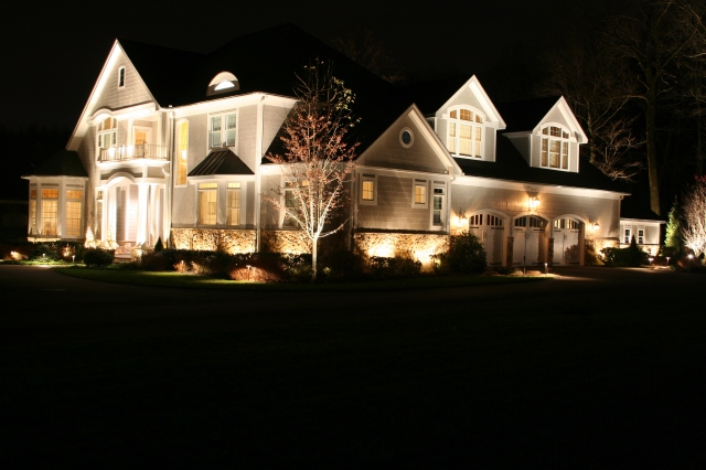 Preferred Properties Landscape Lighting excells throughout the night