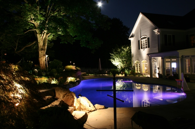 AOLP- Association of Outdoor Lighting Professionals crown Preferred Properties with Specialty Lighting award 2010