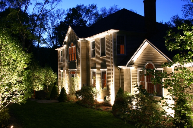 Turn on outdoor lights from inside with your remote