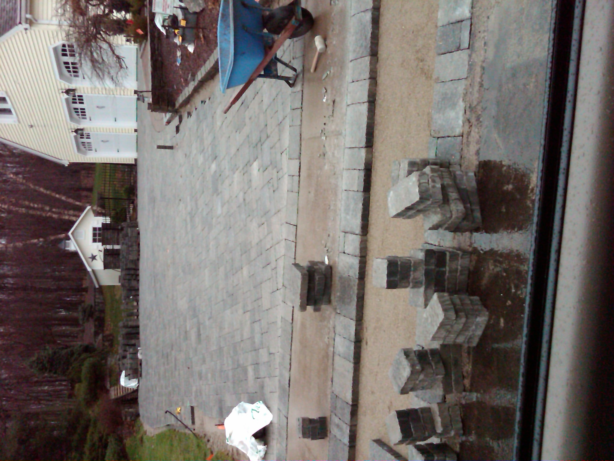 Preferred Properties Landscaping And Masonry Installing A Paver Driveway The Outdoor Kitchen