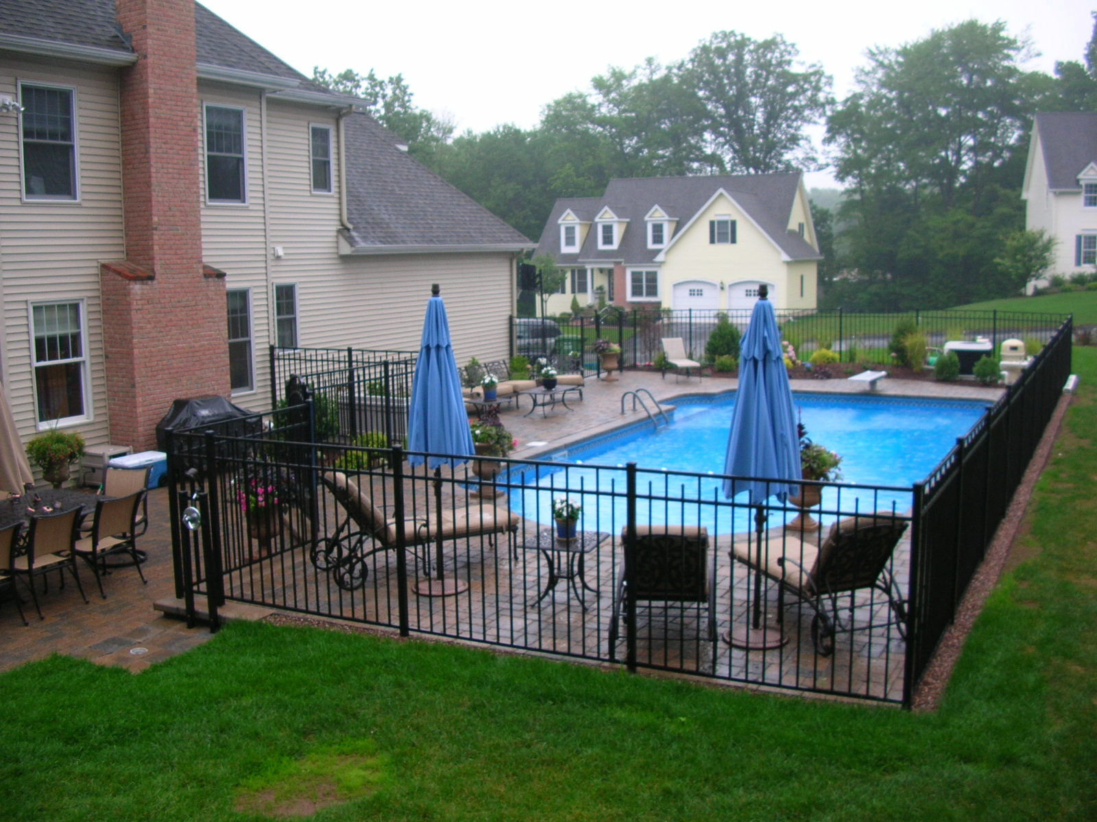 Professional Pool Designers custom inground pool design in 5 easy steps The Ease Of Maintenance And Summer Color Brings The Homeowners To Ease To Enjoy The Pool And Keep The Poolscape Manicured Without Much Effort