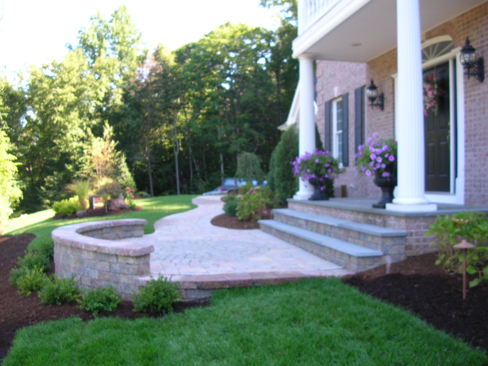 Preferred Properties Landscaping And Masonry Tame This Mountainside Landscape The Outdoor