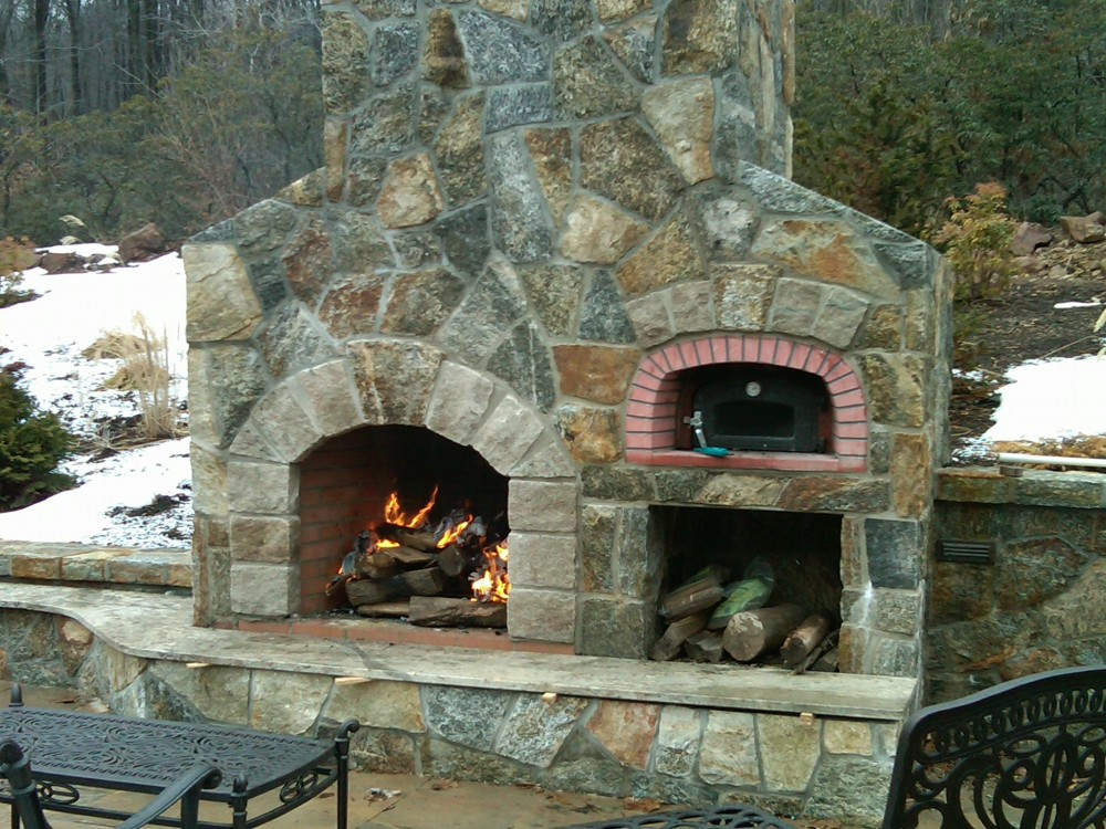 Outdoor Fireplaces are the best. We build the Preferred lifestyle  (1/6)
