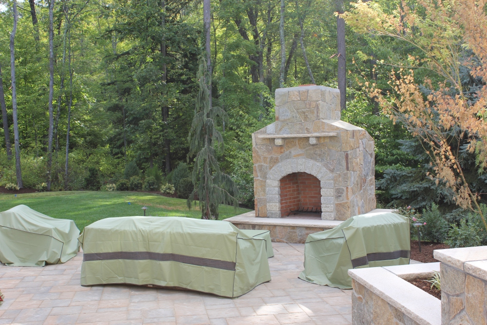 Outdoor Fireplaces are the best. We build the Preferred lifestyle  (6/6)