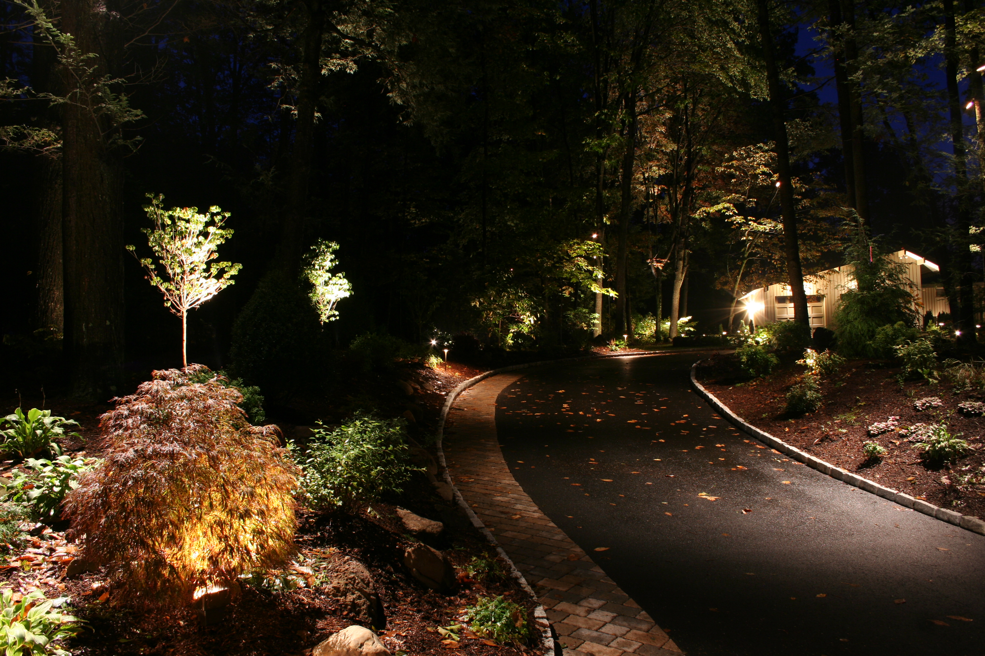 Outdoor Landscape Lighting Placement : The art of landscape lighting brought to a higher level