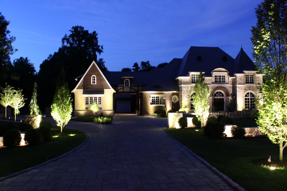 Outdoor living designer Michael Gotowala of Preferred Properties Landscaping and Masonry combines his vision and all his crews talents in directing them to complete this extraordinary landscape anchoring this residence in Fairfield county Connecticut. (1/4)
