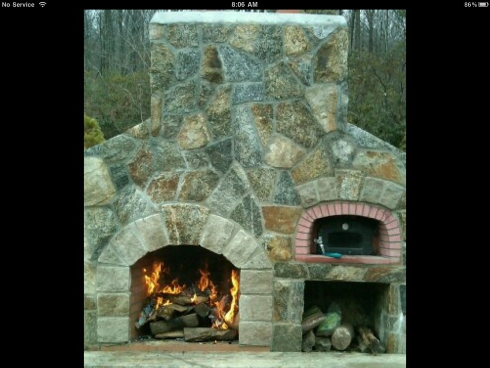 Fireplaces create warmth,light, culinary delight and conversation (6/6)