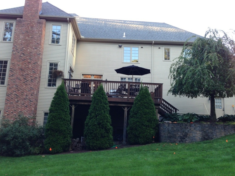 Living  fabulously outdoor living designer offered more than just grilling to this Connecticut residence (1/6)