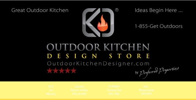 For FABULOUS OUTDOOR KITCHENS go to www.OUTDOORKITCHENDESIGNER.COM