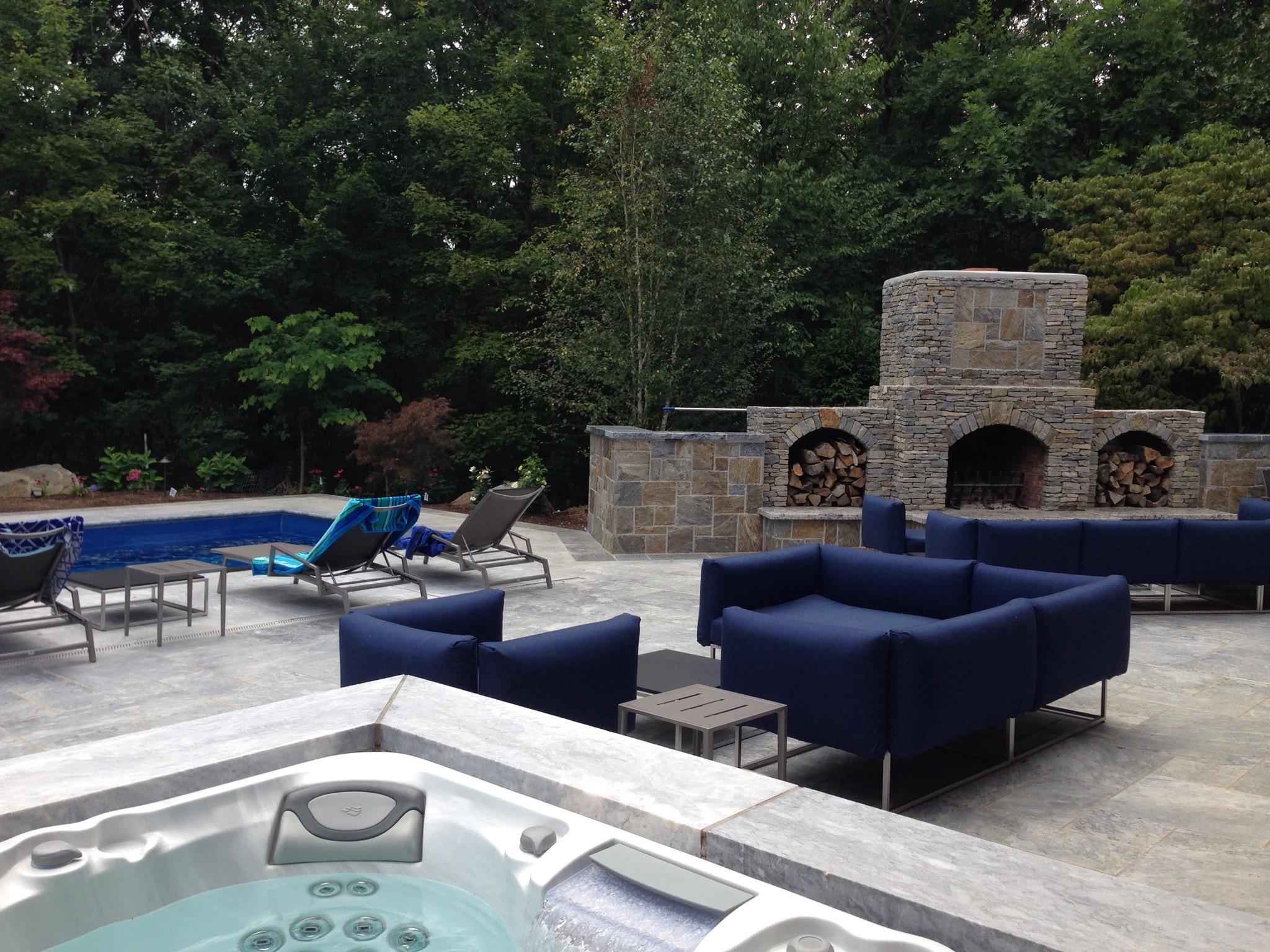 outdoor living and living outdoors fabulously are not created