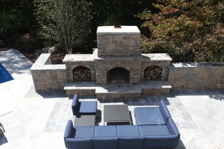 The outdoor fireplace is the heartbeat of the outdoor space. Choosing the right Outdoor fireplace should be done with the utmost concern for how it is to be used.
