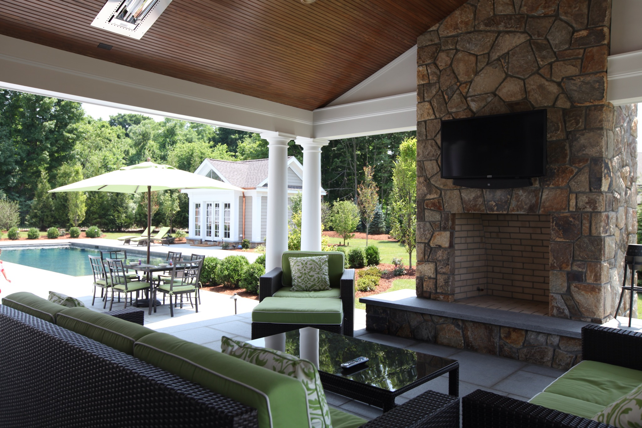 The difference between outdoor living and living outdoors for Ideal outdoor living