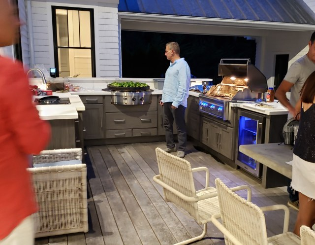 HamptonsFabulous.com Outdoor Kitchens designed with the chef in mind