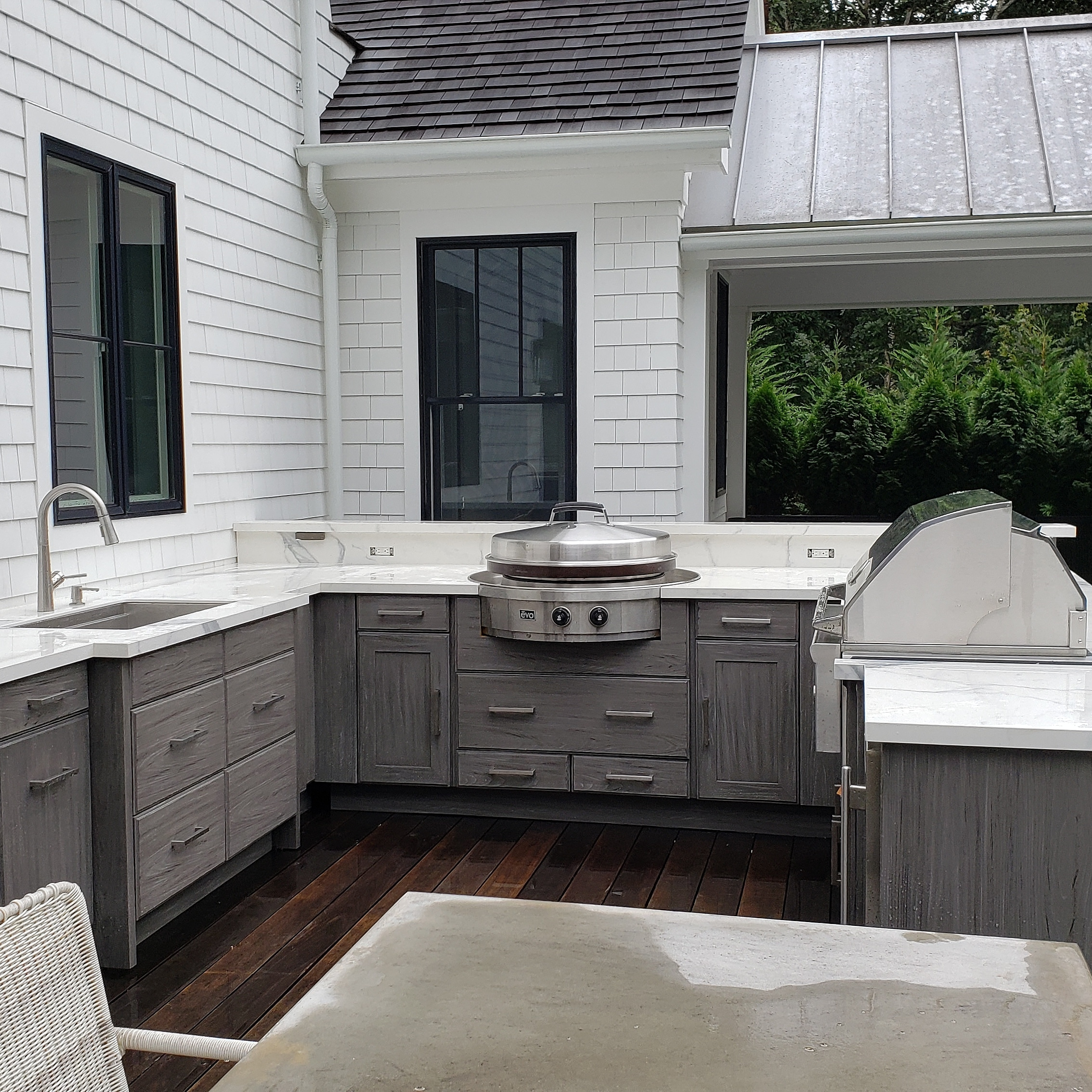 OUTDOOR KITCHENS CONTINUE TO BE FABULOUS IN THE HAMPTONS
