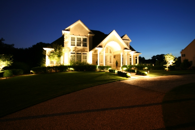 Landscape lighting installation and automation