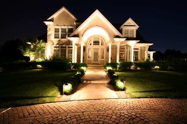 Outdoor lighting at its best.